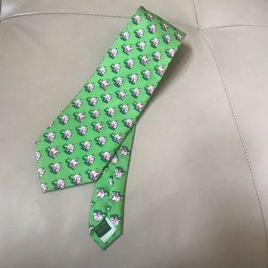Bird Dog Bay 100% Silk Tie, NWOT